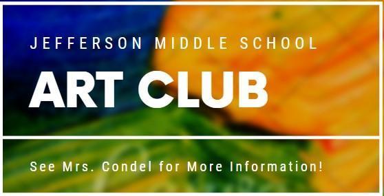 Art Club Starts January 30th! Thumbnail Image