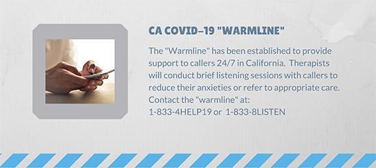 Covid-19 Warmline