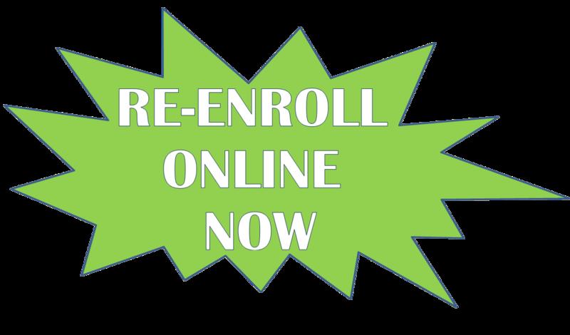 Re-enroll Now