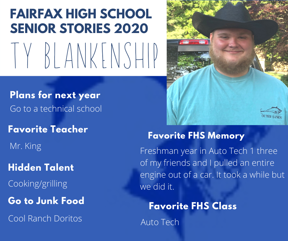 Ty Blankenship photo and activities