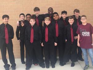 DMS Varsity men's choir