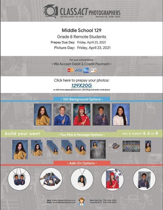 8th grade prepay notice