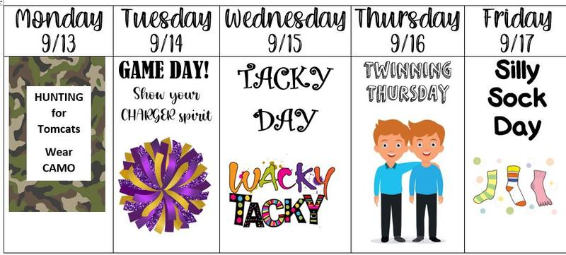 Homecoming Dress Themes for September 13 to 17
