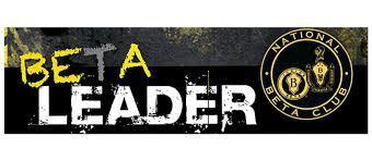 graphic that says BETA Be A Leader
