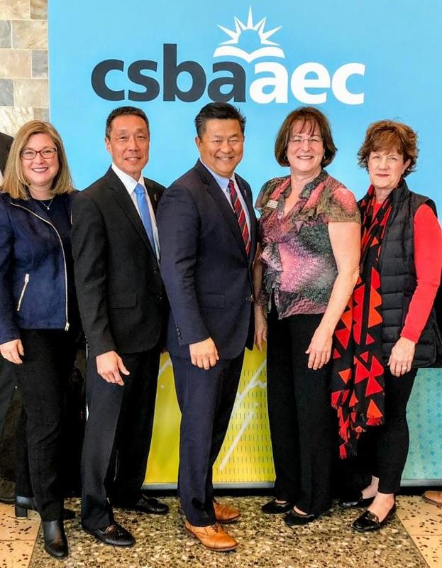 Arcadia Unified Board of Education at CSBA conference