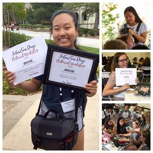 Triton Leaders Receive Honors at USD National Yearbook Conference