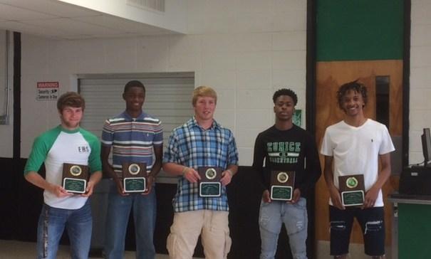 Track Award Winners