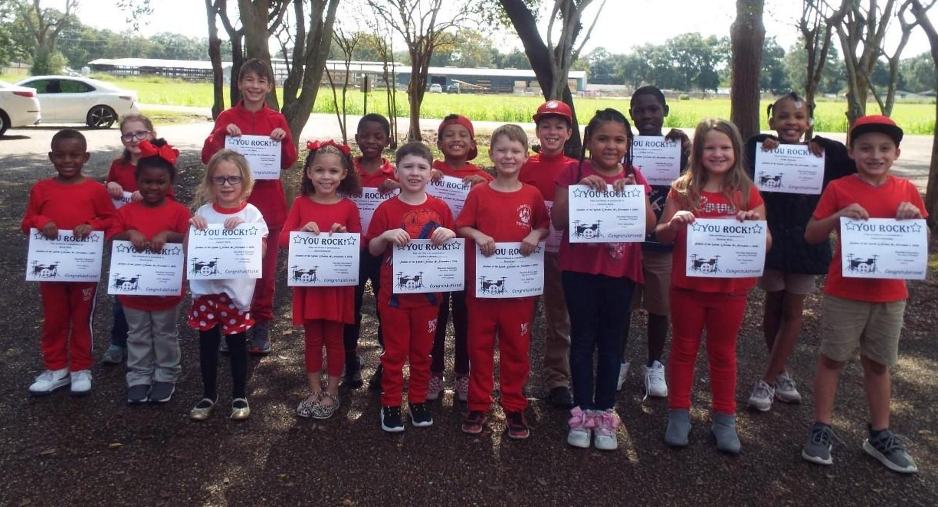 October students of the week
