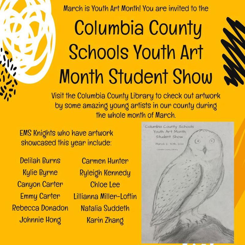 evans middle school art showcase
