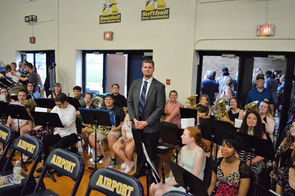 AHS Band at Graduation