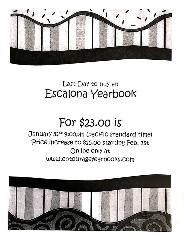Escalona Elementary Yearbook Featured Photo