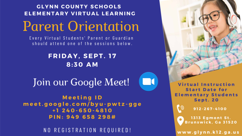 Elementary Virtual Orientation Flyer.