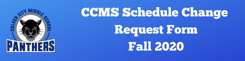 Need to Make a Schedule Change? Thumbnail Image