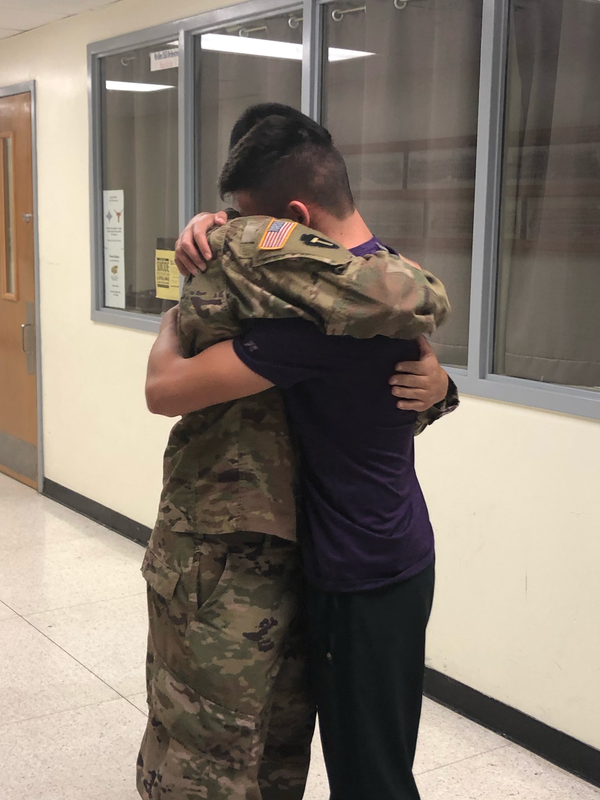 McHi Military Homecoming Surprise