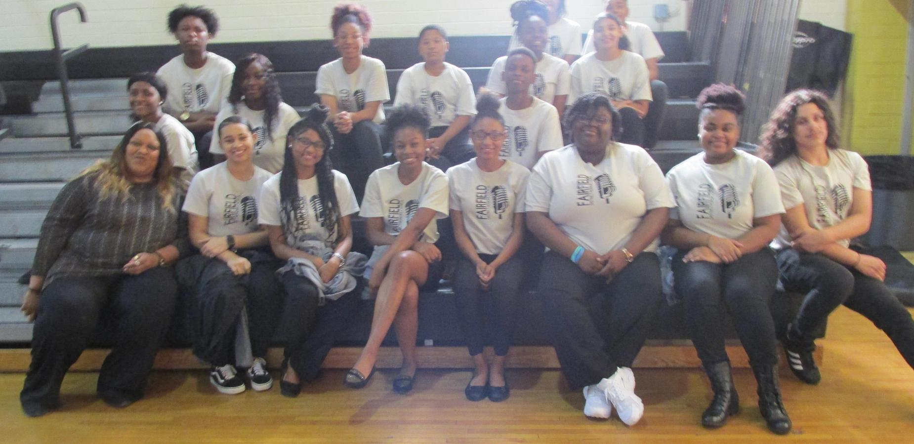 Fairfield District Honors Chorus Members