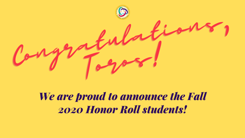 Congratulations Fall 2020 Honor Roll Students! Featured Photo