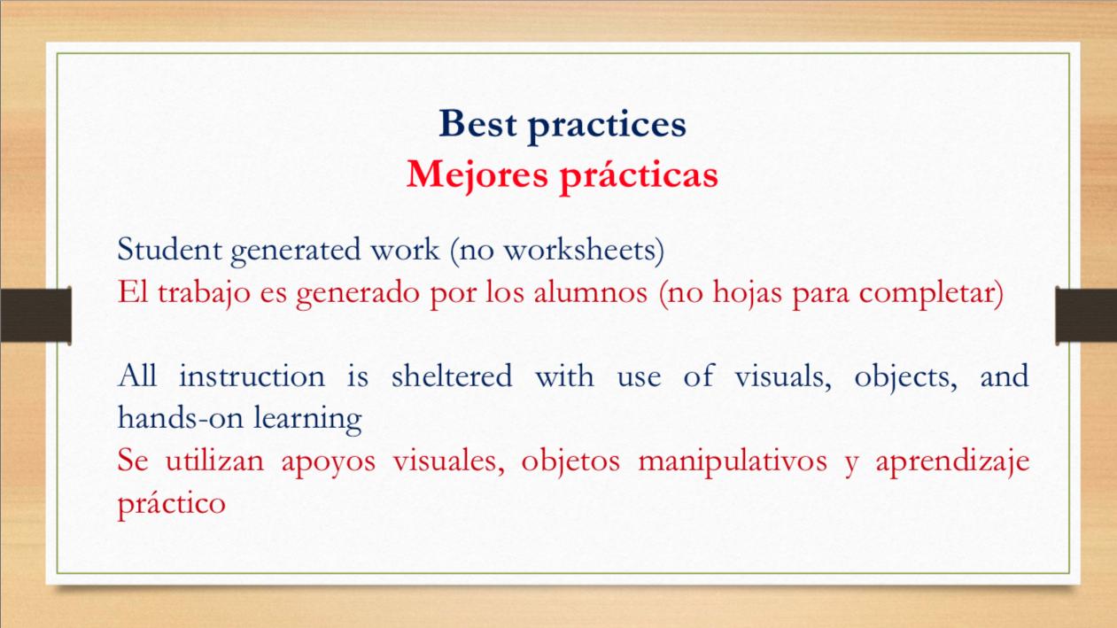 Dual langage slide 17