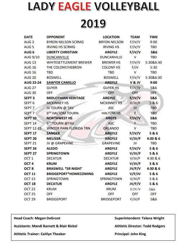 Argyle ISD Athletics – Athletics – Argyle Independent School