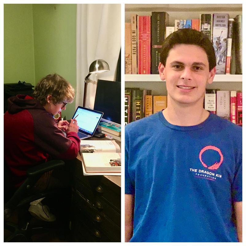 Henry Dorosin (right) and Andrew Kowal (left)