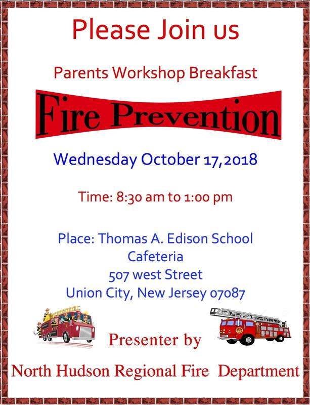 parent breakfast workshop flyer