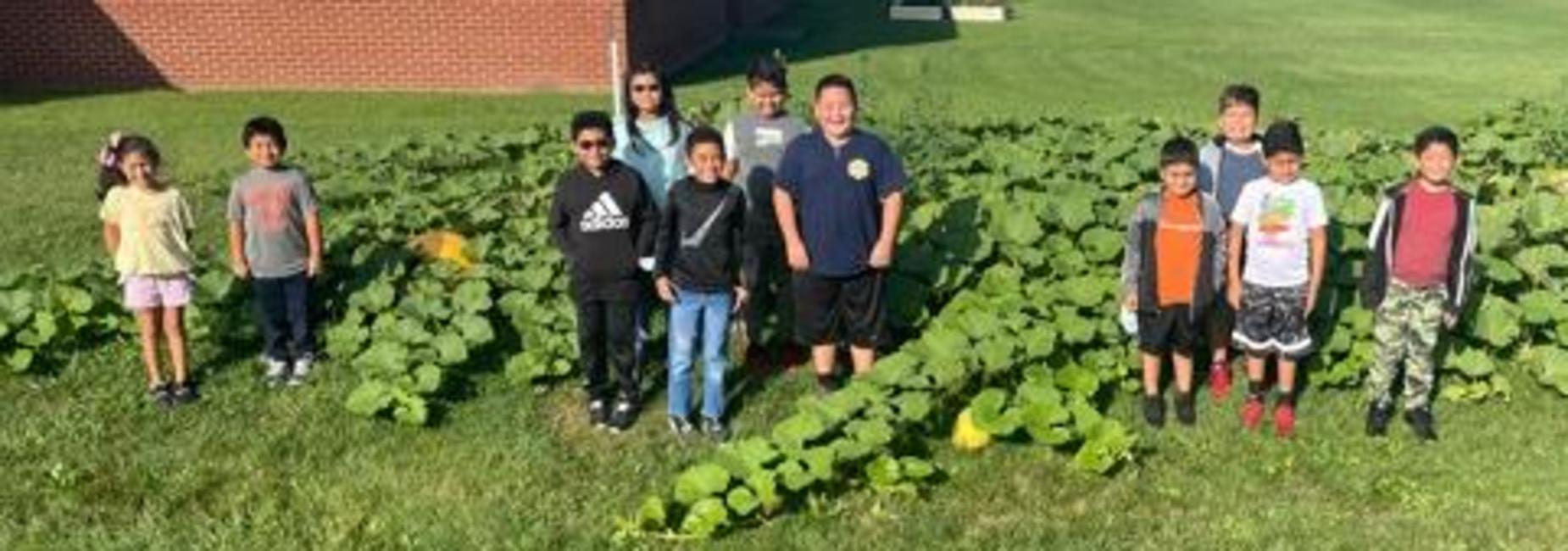 Atkins Elementary School English Learners Pumpkin Patch