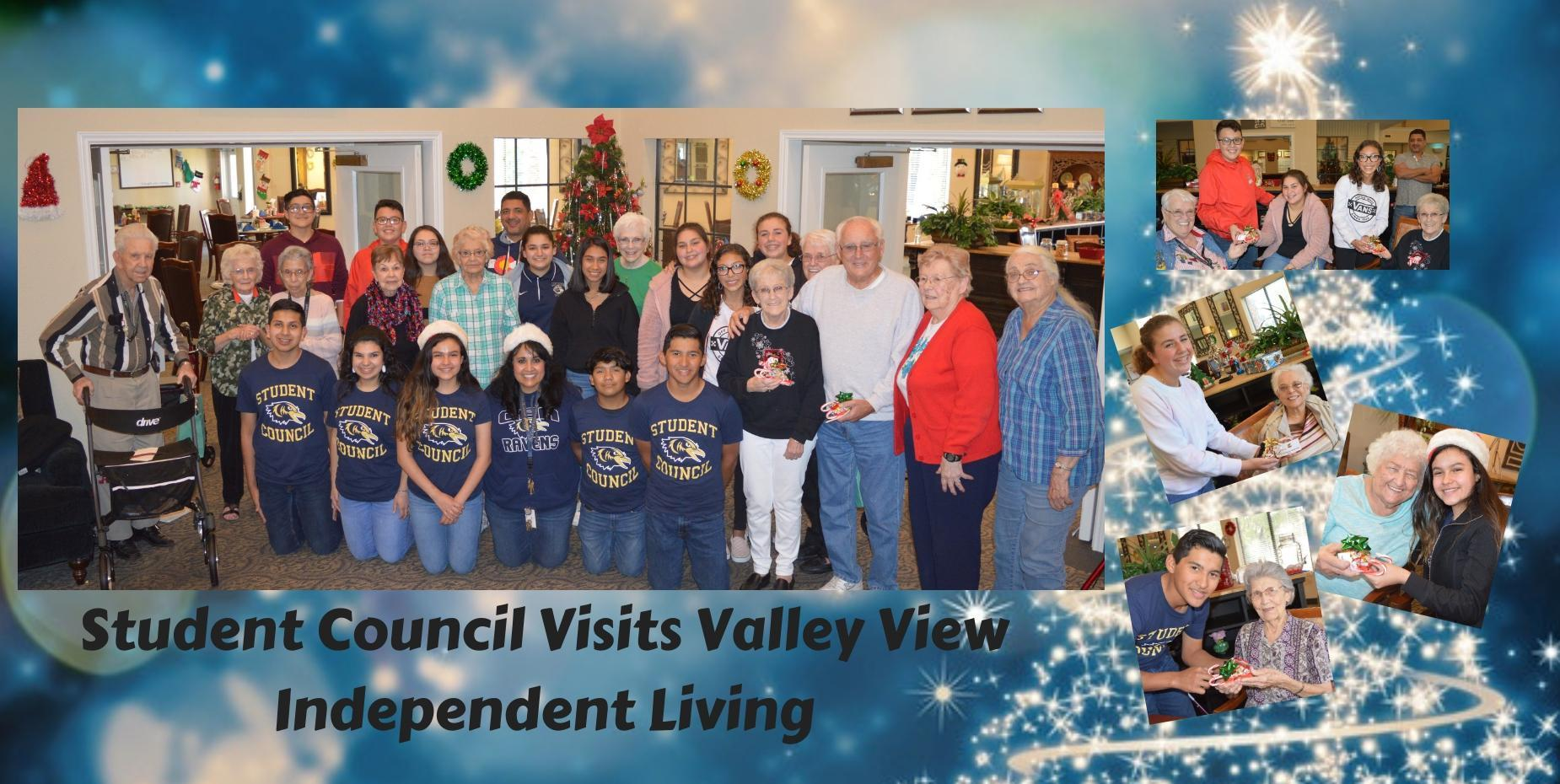 Student Council Visits Valley View Independent Living 2019