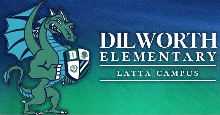 Dilworth Elementary Dragon Logo
