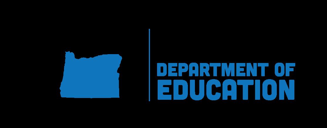Oregon Department of Education header