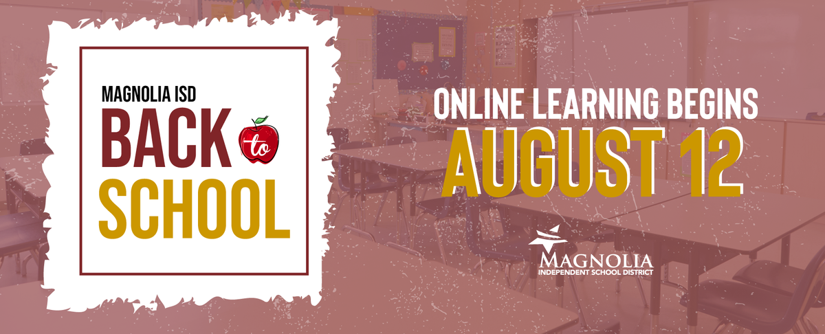 Online Learning Begins Aug. 12 for all students