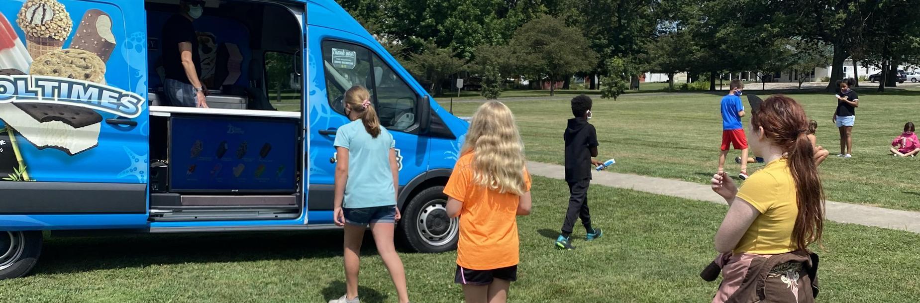 Ice Cream Truck Visit 9/2020