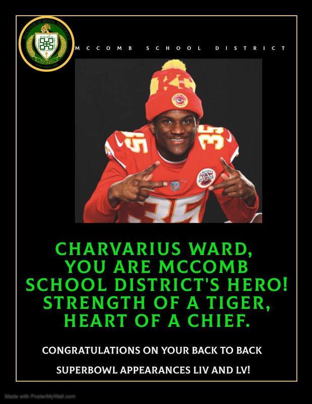 McComb School District Celebrates Class of 2014 Graduate, Charvarius Ward's, Second Superbowl Appearance!