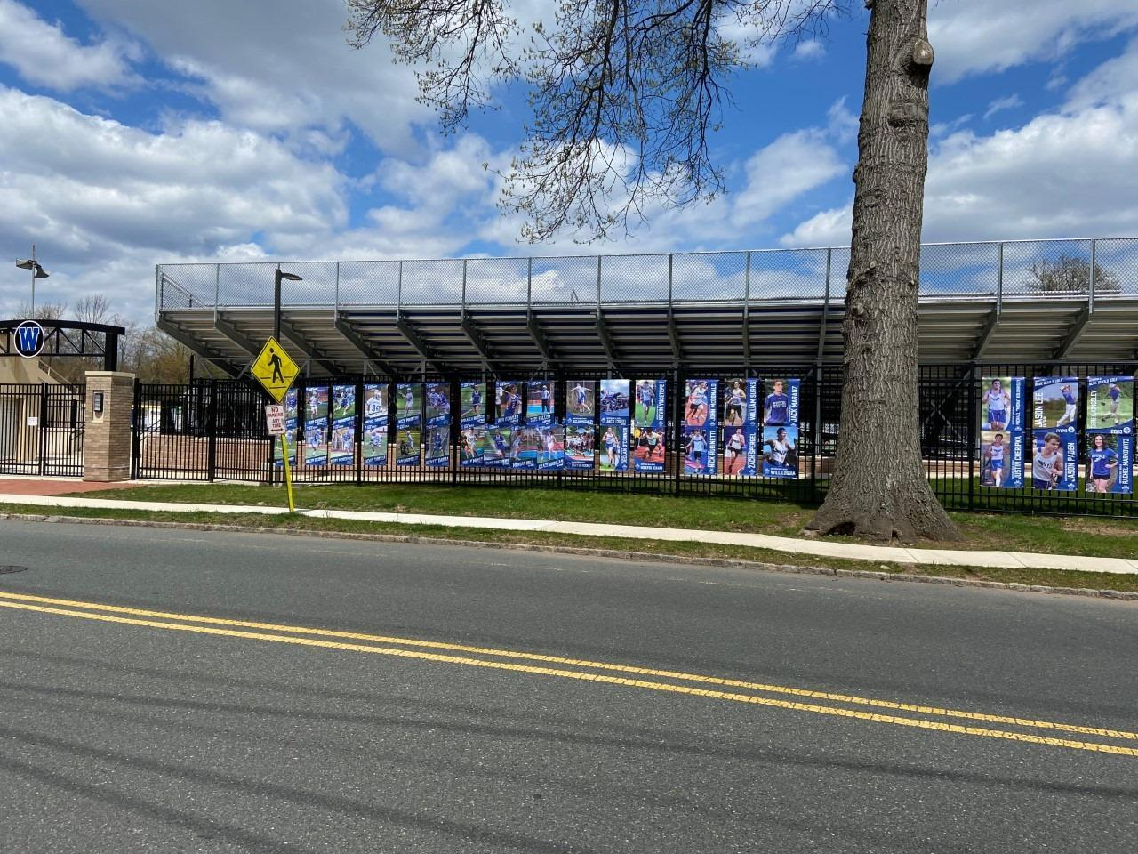 Take a drive by Kehler Stadium and see the wall of senior athletes!