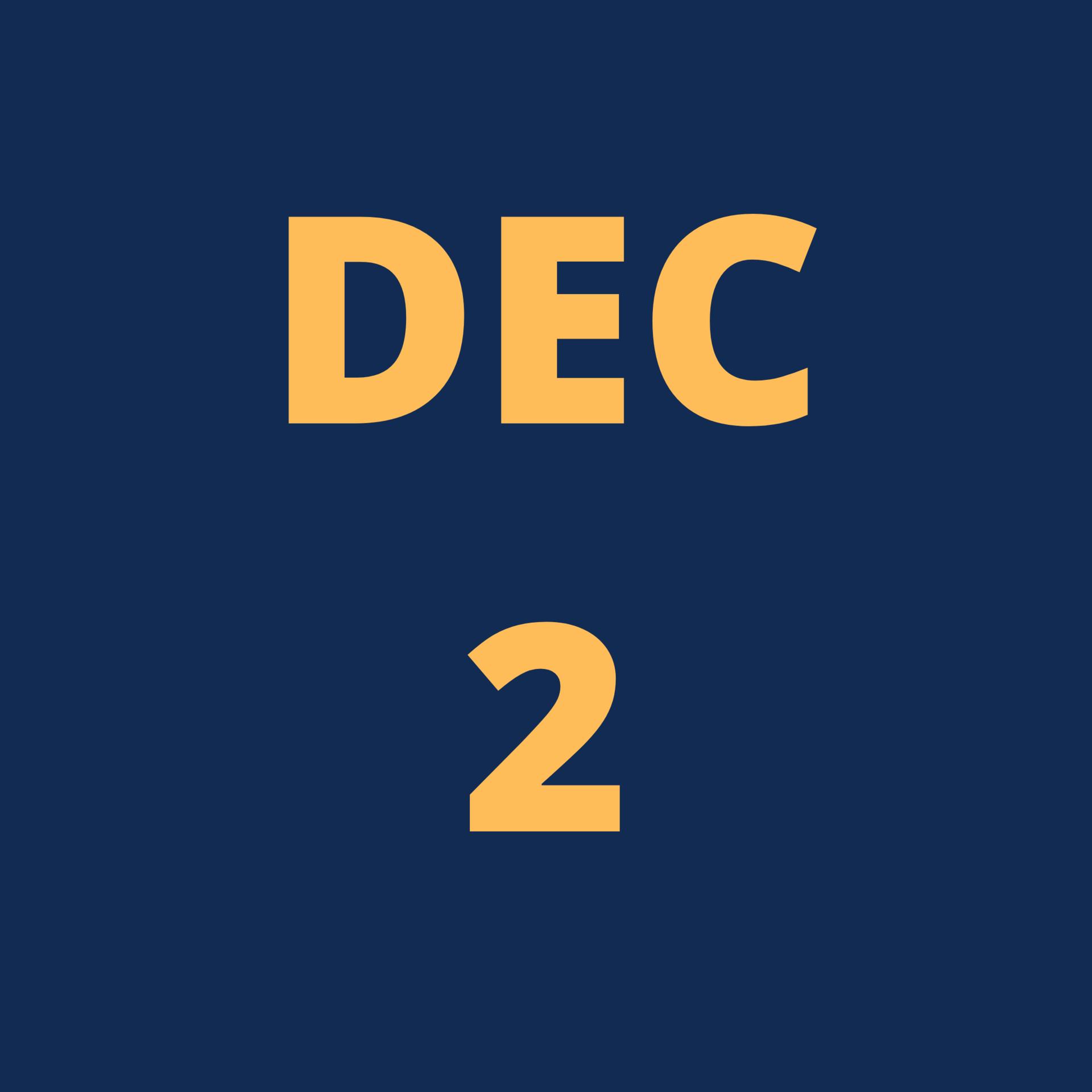 Dec 2 Icon