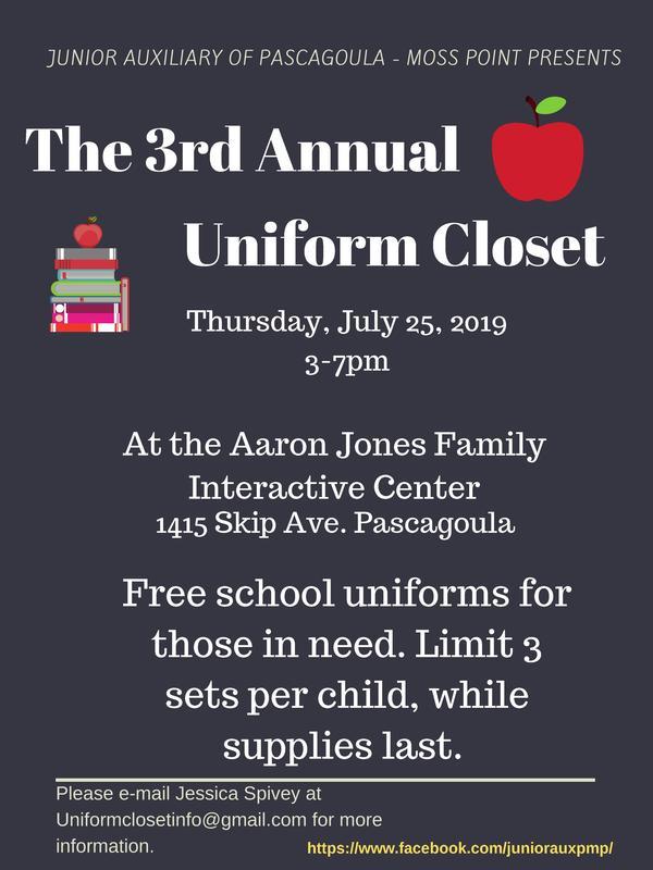 JA Uniform Closet
