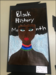 Student artist Black History Month painting