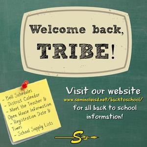 welcome back, tribe!