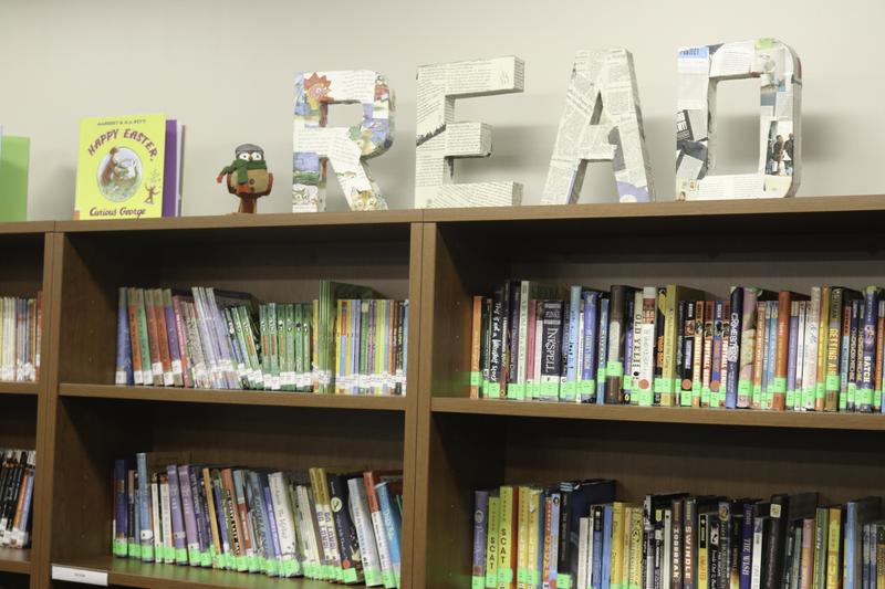 Check Out the New Library & Art Studio Featured Photo