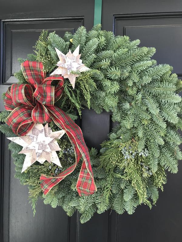 """An """"Artful Wreath"""" to Light up Your Life Thumbnail Image"""