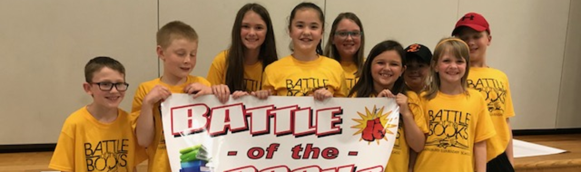 Battle of the Books 2nd Place