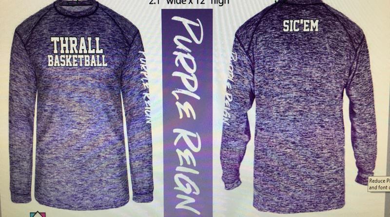 Order Thrall Basketball Shirts Now! Thumbnail Image