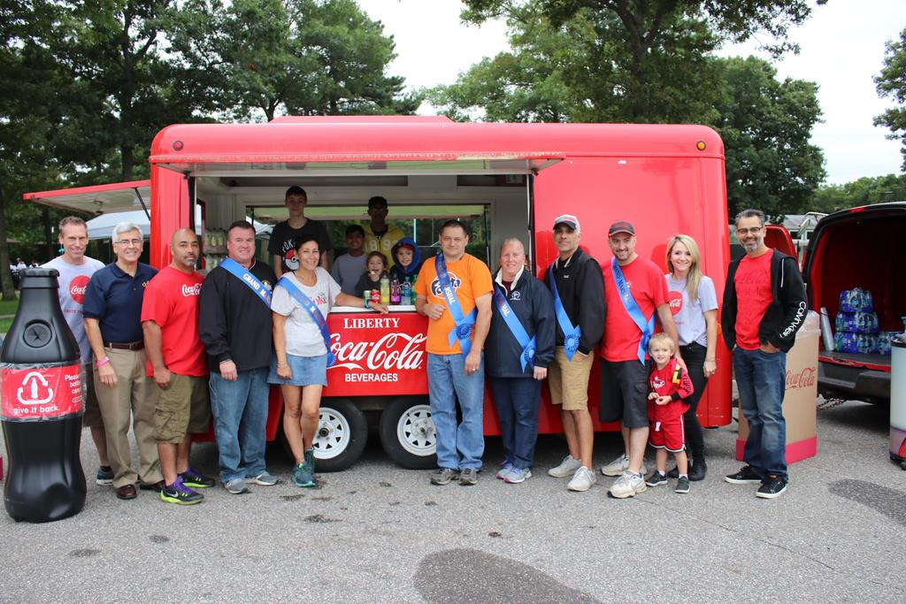 DDI Walk Coca-Cola Grand Marshals
