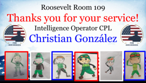 Room 109 Thank you card