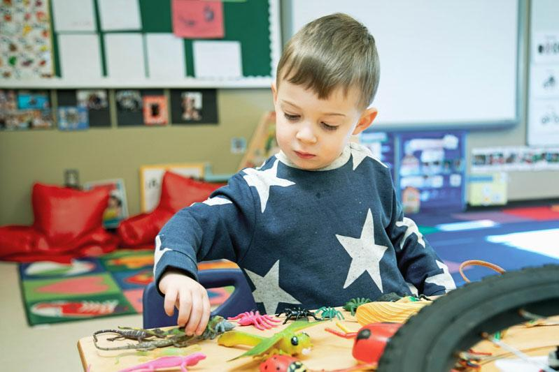 Preschool at HudsonWay Immersion School