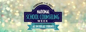 National School Counseling Week Feb. 1-5th