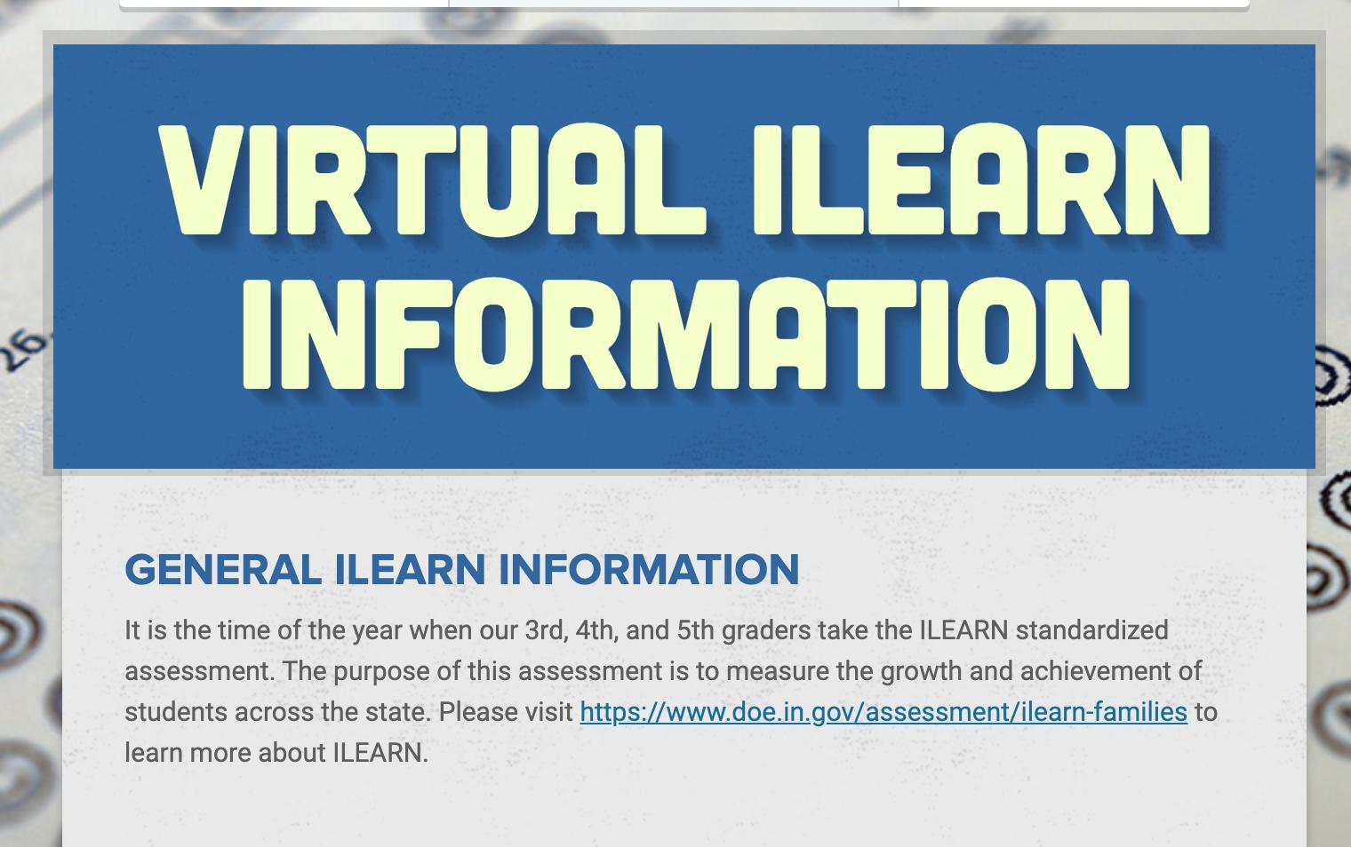Virtual ILEARN Newsletter