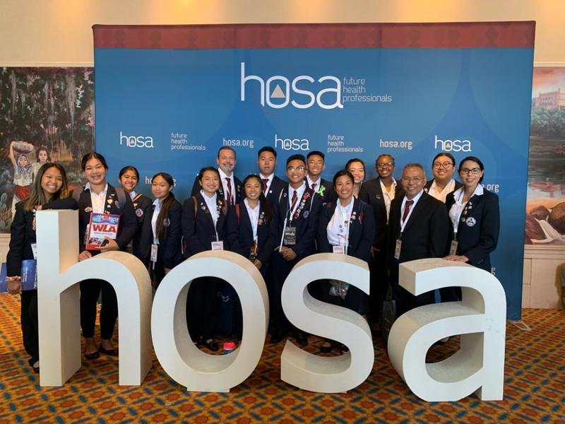 AMA Students in Florida for HOSA International Competition Featured Photo