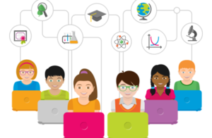 students virtual learning