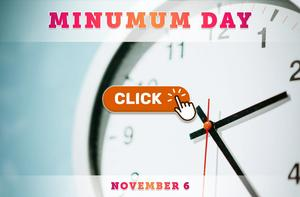 Minimum Day on November 6