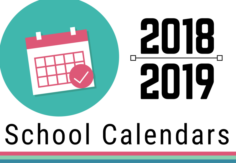 2018-19 School Calendars Thumbnail Image