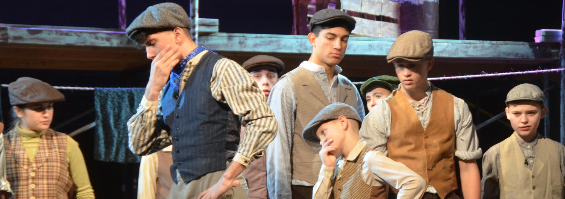 Newsies Pope John Players